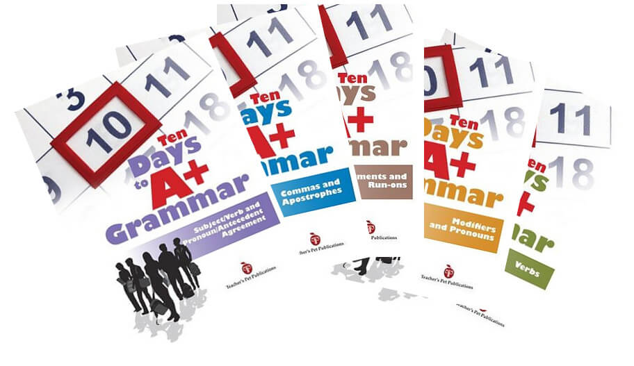 Ten Days to A+ Grammar Complete Set