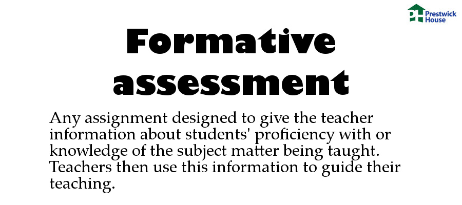 The Dictionary Of Education Terms  Formative Assessment
