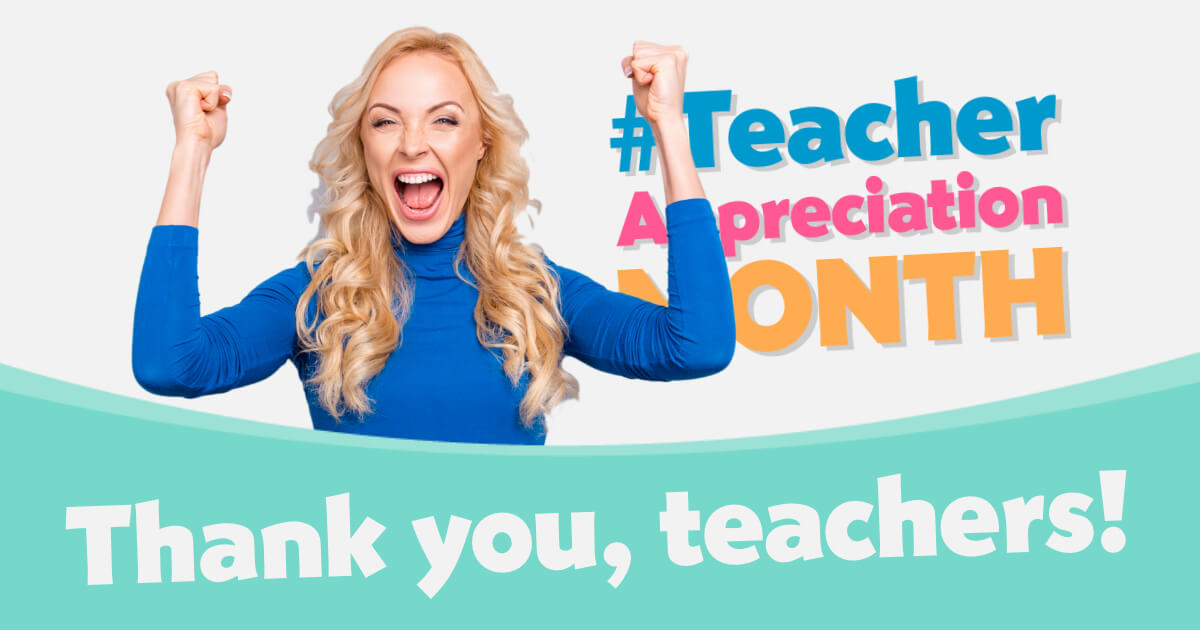 Teacher Appreciation Month - Social Media Pack