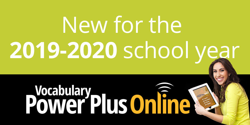 Vocabulary Power Plus Online