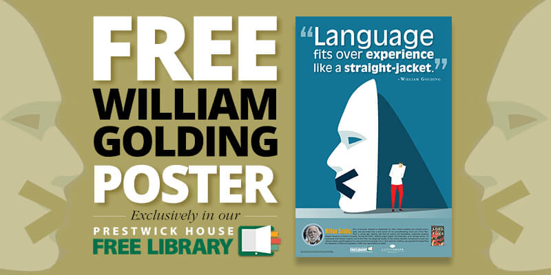 New AuthorSpeak poster: William Golding