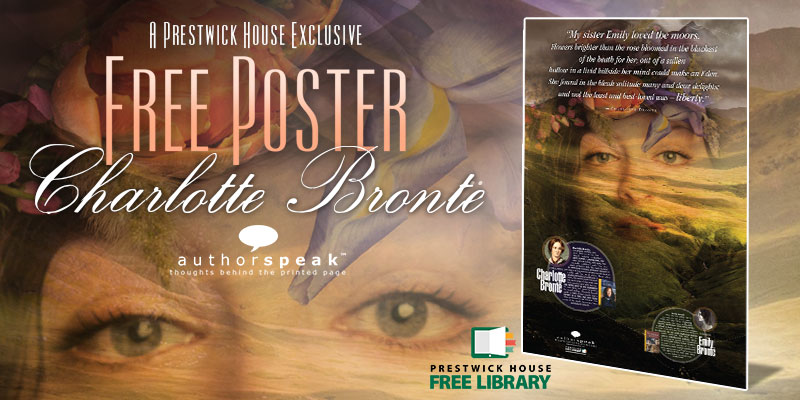 Free Brontë Sisters AuthorSpeak Poster—Now Available