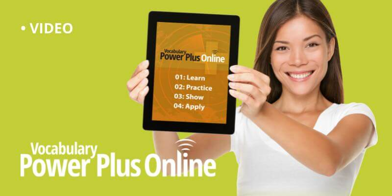 Vocabulary Power Plus Online Explained in 30 Seconds
