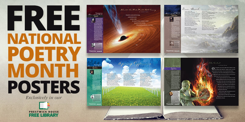 Get every free National Poetry Month poster