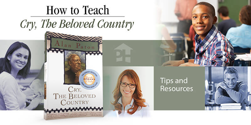 How to Teach Cry, the Beloved Country
