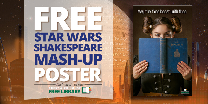 New poster: Shakespeare and Star Wars