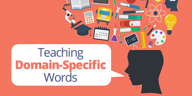 Teaching Domain-Specific Words