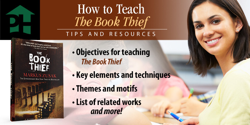 How to Teach the Book Thief with 9 Simple Goals