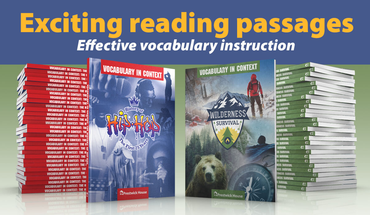 Win a Vocabulary in Context set