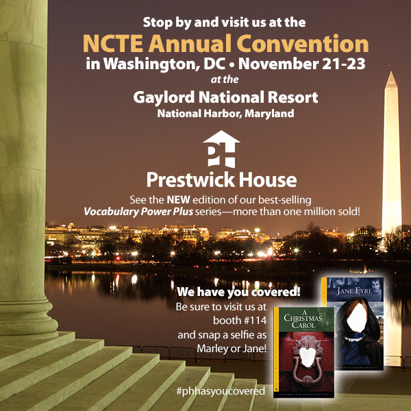 Come see us at NCTE 2014!