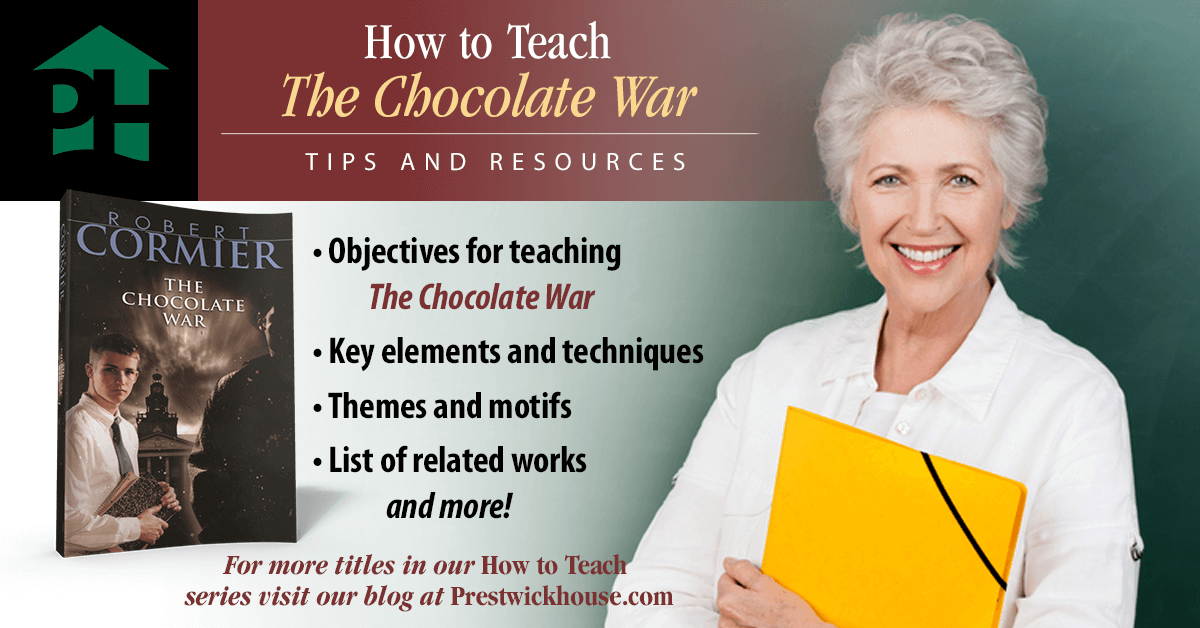 """an examination of the book the chocolate war by robert cormier At the same time, the book was cited as the """"best young adult book robert cormier's the chocolate war cormier once said that his goal in his."""