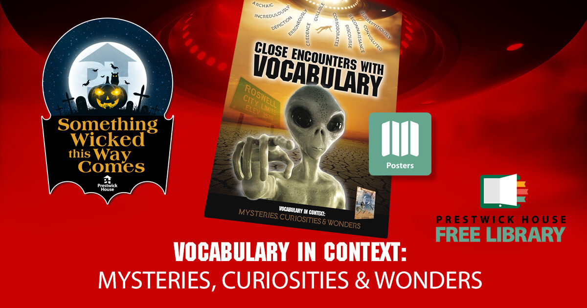 Close Encounters with Vocabulary Poster