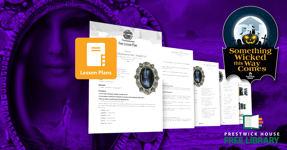 Annabel Lee Lesson Plan
