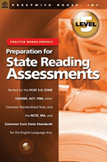 Preparation for State Reading Assessments: Practice Makes Perfect - Level 5