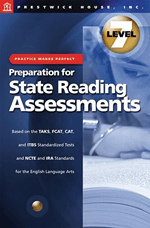 Preparation for State Reading Assessments: Practice Makes Perfect - Level 7