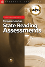 Preparation for State Reading Assessments: Practice Makes Perfect - Level 8