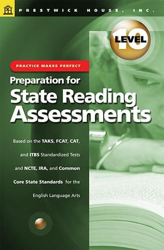 Preparation for State Reading Assessments - Level 10
