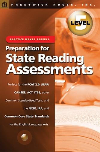 Preparation for State Reading Assessments - Level 5