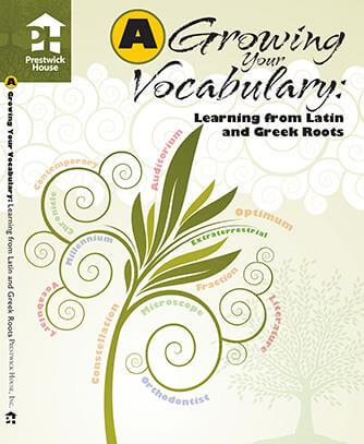 Growing Your Vocabulary - Book A