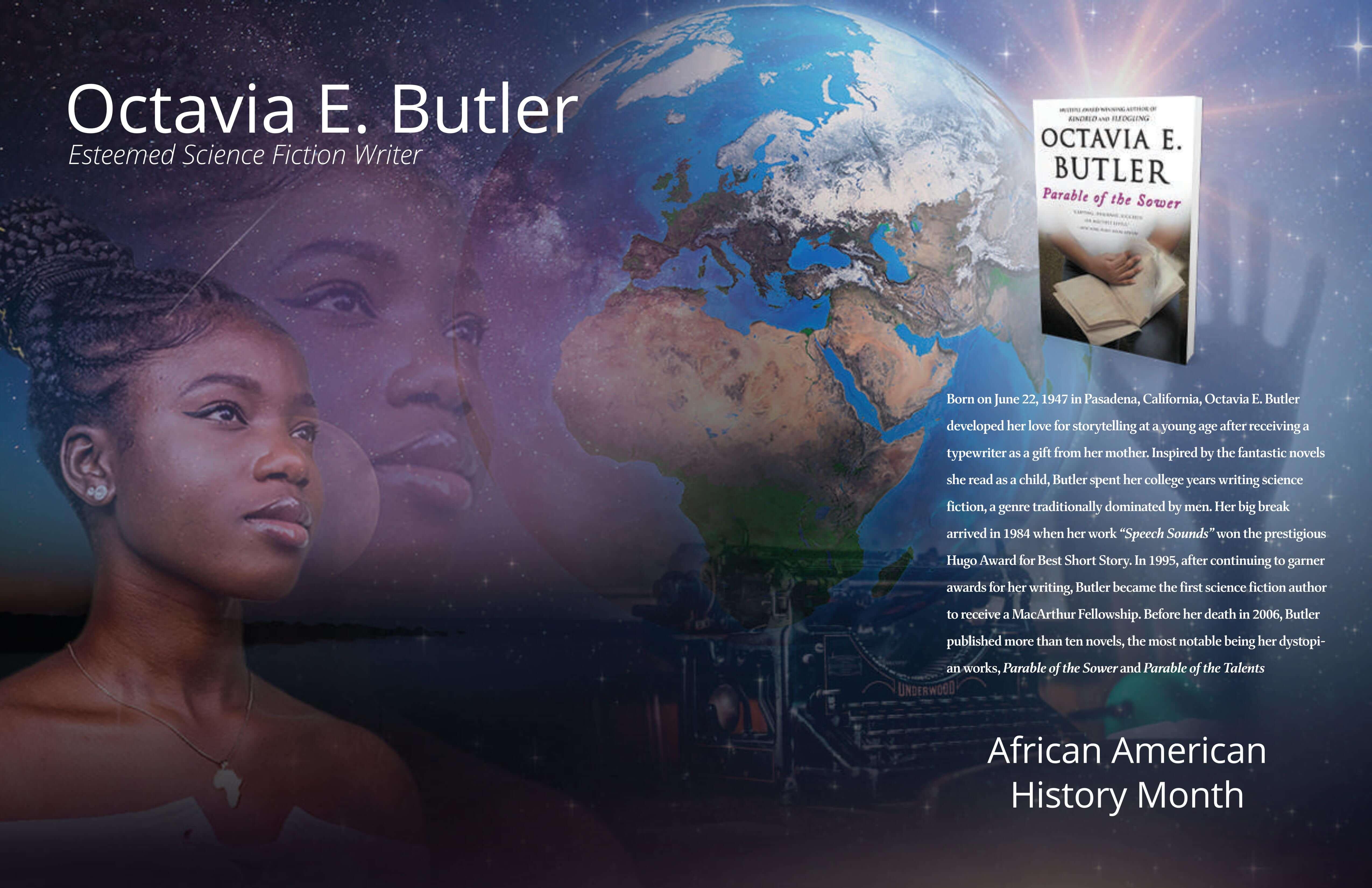 Octavia E. Butler Poster