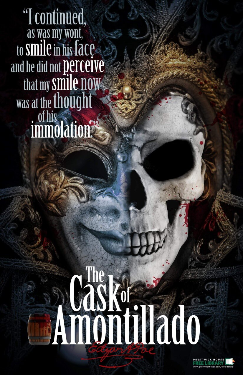 The Cask of Amontillado Poster