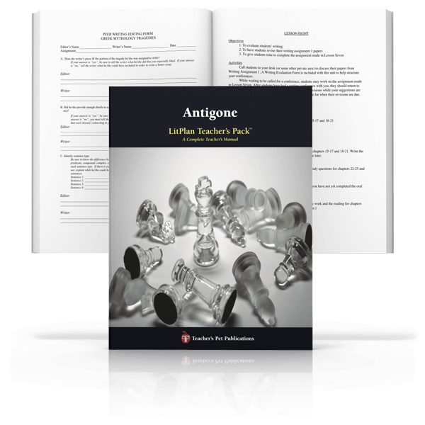 Antigone Teaching Resources Prestwick House. Antigone Litplan Teacher Pack. Worksheet. Antigone Worksheet At Mspartners.co