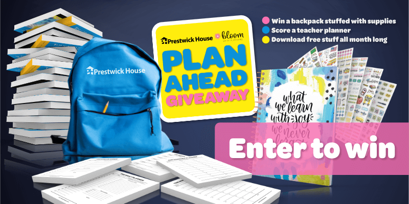 Enter the 2019 Plan Ahead Giveaway!