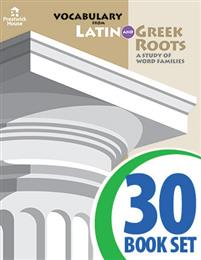 Vocabulary from Latin and Greek Roots - Book III - Complete Set