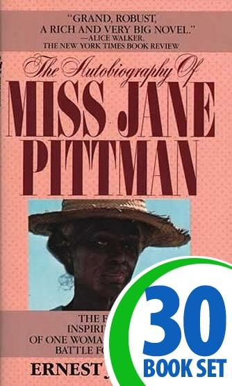 Autobiography of Miss Jane Pittman, The - 30 Books and Teaching Unit
