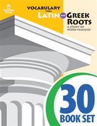 Vocabulary from Latin and Greek Roots - Book IV - Complete Set