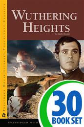 Wuthering Heights - 30 Books and Puzzle Pack (Reproducible)