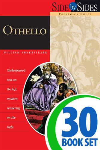 Othello - Side by Side - 30 Books and Key