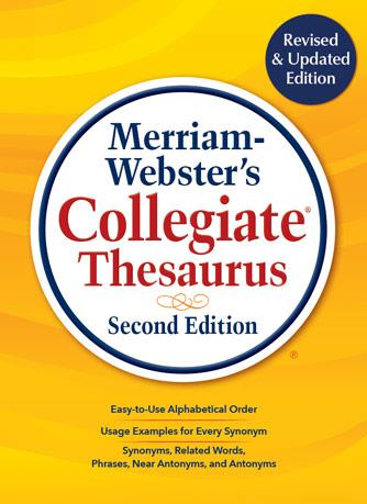 Merriam-Webster's Collegiate Thesaurus (Thumb-Notched Edition)