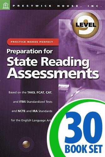 Preparation for State Reading Assessments: Practice Makes Perfect - Level 9