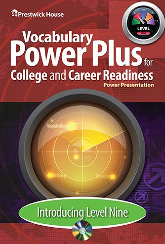 Vocabulary Power Plus for College and Career Readiness - Level 9 - Introduction Power Point