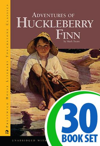 Adventures of Huckleberry Finn - 30 Books and Teaching Unit