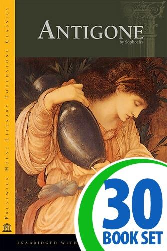 Antigone - 30 Books and LitPlan Teacher Pack (CD-ROM)
