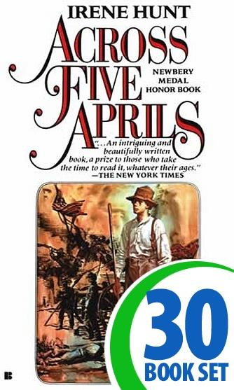 Across Five Aprils - 30 Books and Complete Teacher's Kit