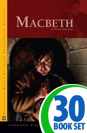 Macbeth - 30 Books and LitPlan Teacher Pack (CD-ROM)