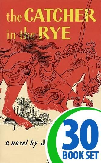 Catcher in the Rye, The - 30 Books and Complete Teacher's Kit