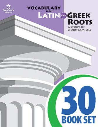 Vocabulary from Latin and Greek Roots - Level VII Super Set