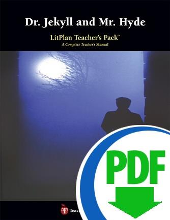 Dr. Jekyll and Mr. Hyde: LitPlan Teacher Pack - Downloadable