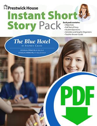 Blue Hotel, The - Instant Short Story Pack