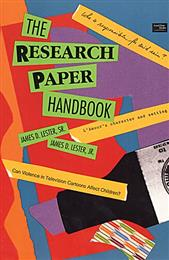 Research Paper Handbook, The