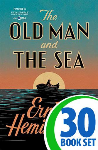 Old Man and the Sea, The - 30 Books and Complete Teacher's Kit