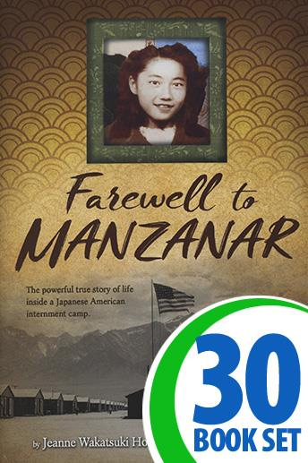Farewell to Manzanar - 30 Books and Activity Pack