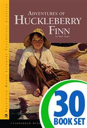 Adventures of Huckleberry Finn - 30 Books and AP Teaching Unit
