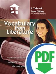 Tale of Two Cities, A - Downloadable Vocabulary From Literature
