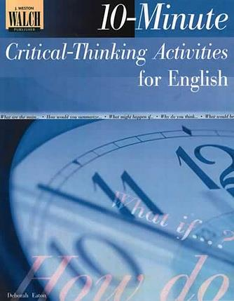 10 Minute Critical Thinking Activities for English Classes