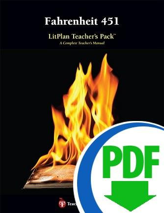 Fahrenheit 451: LitPlan Teacher Pack - Downloadable